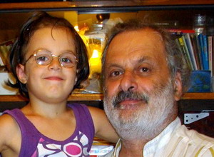Иосиф Хусенский с дочерью Алиной.